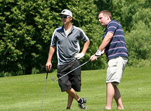 he annual Golf Tournament and Card Party was held at the Dayton, Minn.