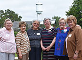 Sisters, associates, friends and donors gather at the last Mass of Appreciation to be held at St. Mary of the Pines in 2019.