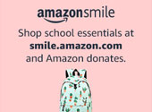 Shop school essentials at smile.amazon.com and Amazon donated through AmazonSmile.