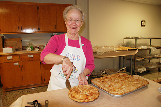 Fresh baked apple pie is just one treat you will find at our annual Craft Fair & Garage Sale.