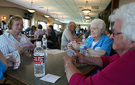 Annual Golf Tournament & Card Party at Daytona Golf Club, Dayton, MN.