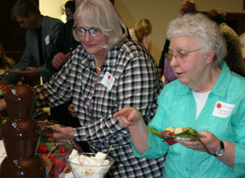 The School Sisters of Notre Dame held their annual Wine and Chocolate Soiree on Saturday, May 20th, 2017. The event was held at Our Lady of Good Counsel, Mankato.