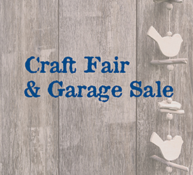 2019 Craft Fair and Garage Sale Web Header.  Image: CC0 Public Domain  Free for commercial use  Link referral required  https://www.maxpixel.net/Coupon-Postcard-Wood-Invitation-Background-Bird-2527459