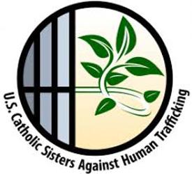 U.S. Catholic Sisters Against Human Trafficking logo created for Shalom.