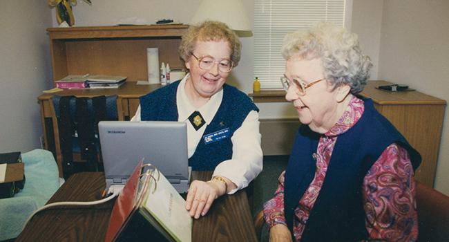 Elm Grove Nun Study, Sister Gabriel Spaeth