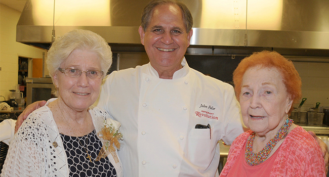 Chef John Folse of New Orleans and his staff prepared and served the festive luncheron for the 2014 Chatawa Jubilee celebration.