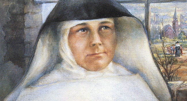 A painting of Sister Antonina Kratochwil.