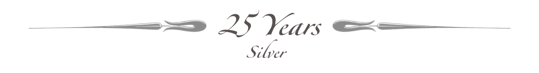 Celebrating 25 Years - Silver Jubilee