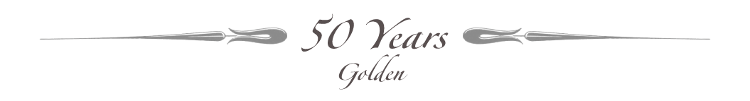 Celebrating 50 Years - Golden Jubilee