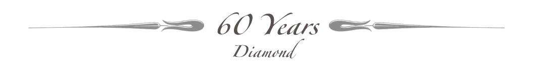 Celebrating 60 Years - Diamond Jubilee