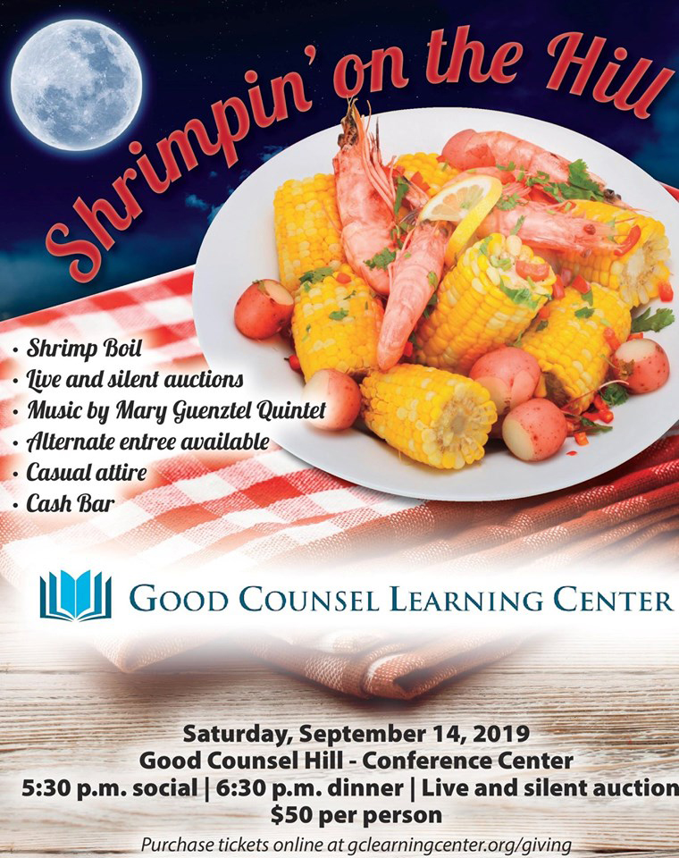 Shrimpin' on the Hill, Saturday, September 14, 2019
