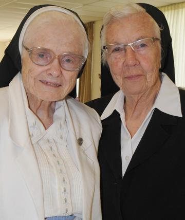 Two sisters celebrating jubilee