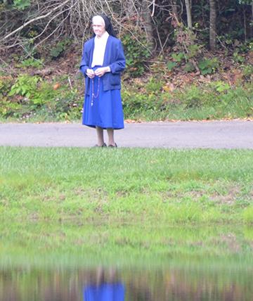 Sister in prayer.