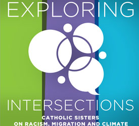 The logo for Exploring Interesecitions: Catholic Sisters on Rascism, Migration and Climate