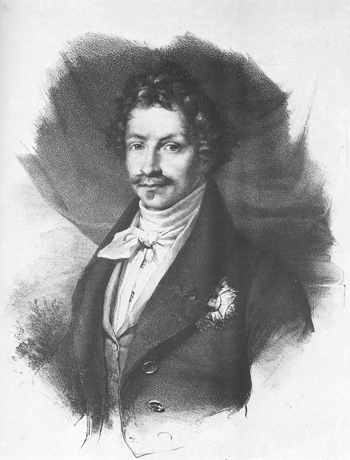 Picture of Ludwig I. von Bayern around 1830