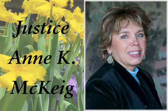 Justice Anne K. McKeig, speaker at the 2018 Women's Leadership Luncheon in St. Paul area