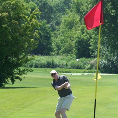 Photo of golf shot from 2015 Golf Tournament