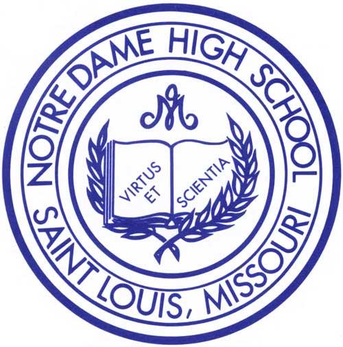 Logo for Notre Dame High School, St. Louis