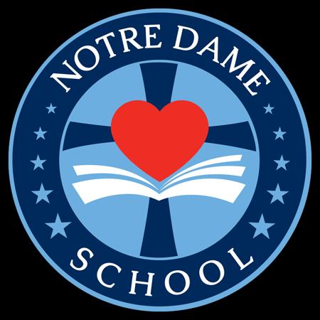 Logo for Notre Dame School, Dallas