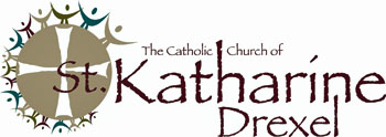 The Catholic Church of St. Katharine Drexel logo.  © The Catholic Church of St. Katharine Drexel