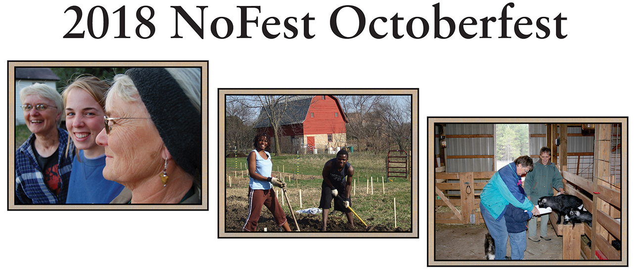 Nofest Octoberfest 2018 - A fundraiser to support our ministries