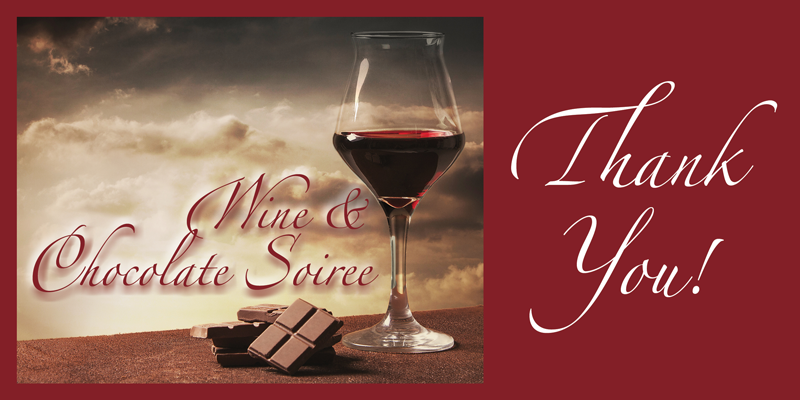 Thank you for attending the School Sisters of Notre Dame Wine & Chocolate Soiree!