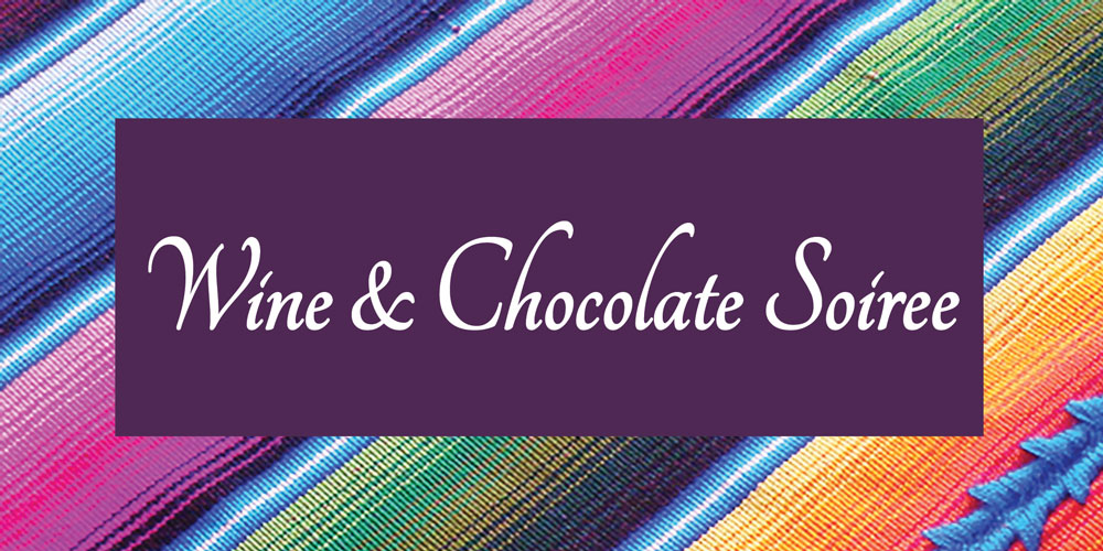 Wine & Chocolate Soiree 2018 header