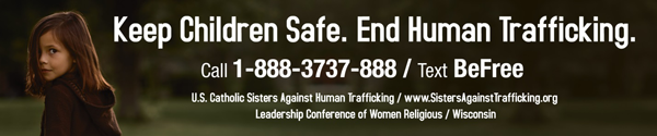 Keep Children Safe. End Human Trafficking