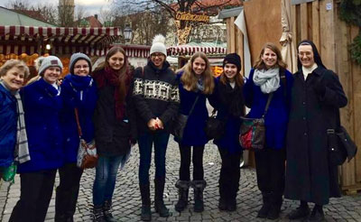 Sisters and students from Notre Dame High School in St. Louis traveled to Bavaria, Germany, to experience the SSND mission in another culture.