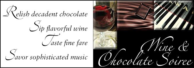 Wine & Chocolate Soiree Header
