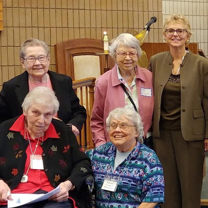 Associate Laura Harvancik celebrating her convenanting with sisters