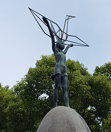 The Children's Peace Memorial was completed on May 5, 1958 in honor of Sadako Sasaki.