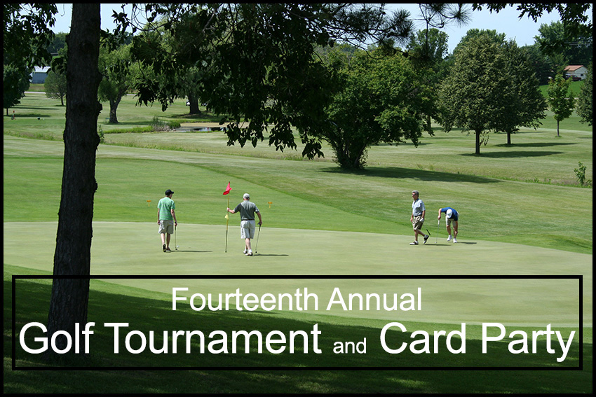 Fourteenth Annual Golf Tournament & Card Party header