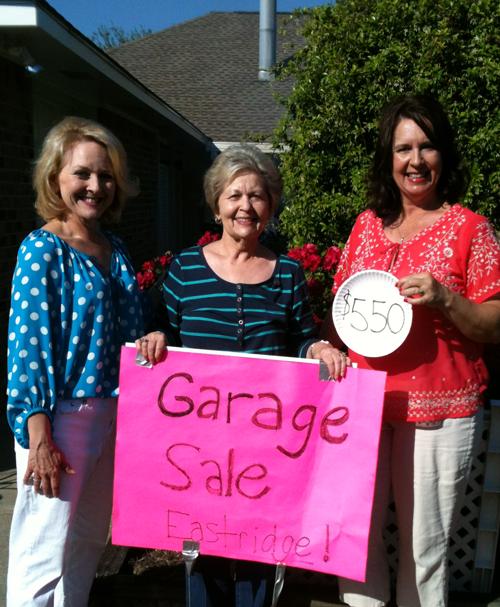 Baton Rouge Garage Sale Cherie Bailey, Jody Landry, Mary Beth Campagna