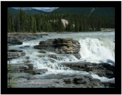 Falls at Athabasca River