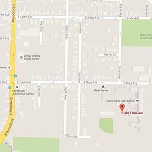 Google Map to Sancta Maria in Ripa