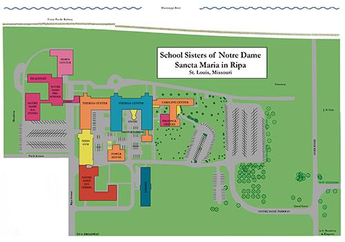 Sancta Maria in Ripa location map