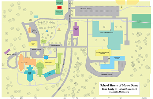 Our Lady of Good Counsel location map