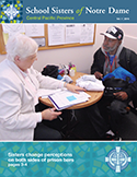 SSND Central Pacific Povince Newsletter Cover - 2016 Volume 1