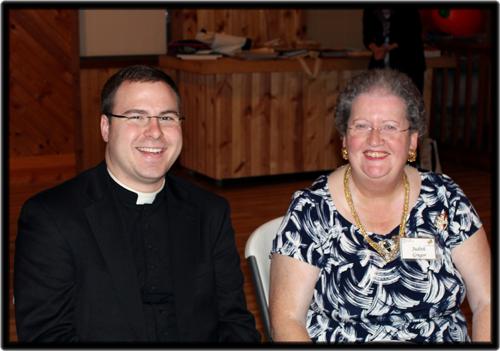 Father Chris Gernetzke & Associate Judith Gregor