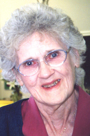 Sister Evelyn Cartmell