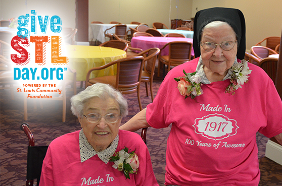 The sisters residing at the Sarah Community in Bridgeton, Missouri, stay active through activities and in prayer.