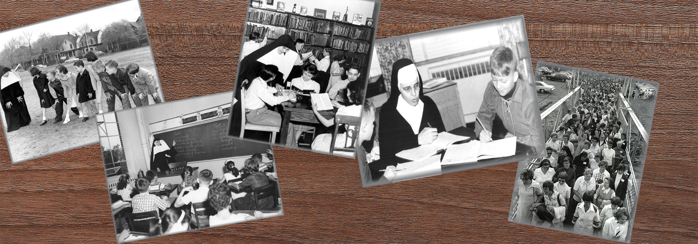 Historical photos are just some of the things to find in the North American archives of the School Sisters of Notre Dame.