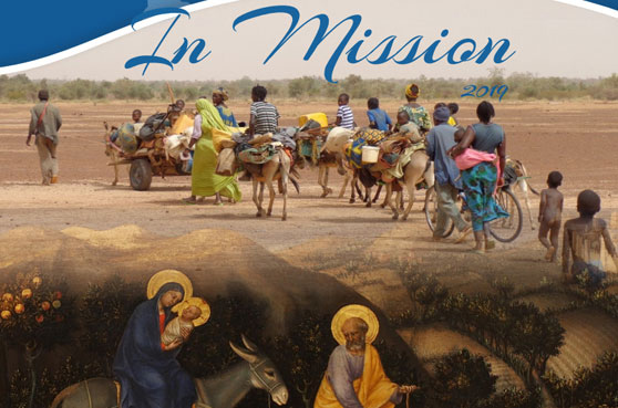 This second edition of In Mission, focuses on the international congregation's journey to help those who are vulnerable and marginalized across the world.