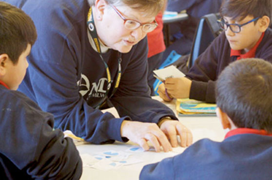The School Sisters of Notre Dame (SSND) have been teachers since their foundress, Blessed Theresa of Jesus Gerhardinger, started teaching at age 15 in Bavaria (now a state in Germany). Throughout the years, as the work of education has changed, the School