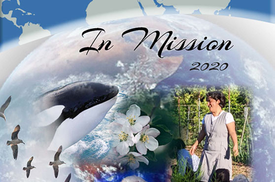 The yearly congregational publication, In Mission, focuses on the international congregation's journey to help those marginalized across the world.