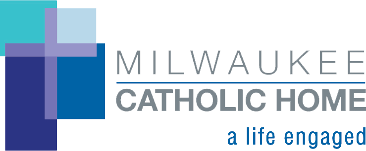Sponsor logo for Milwaukee Catholic Home, a life engaged