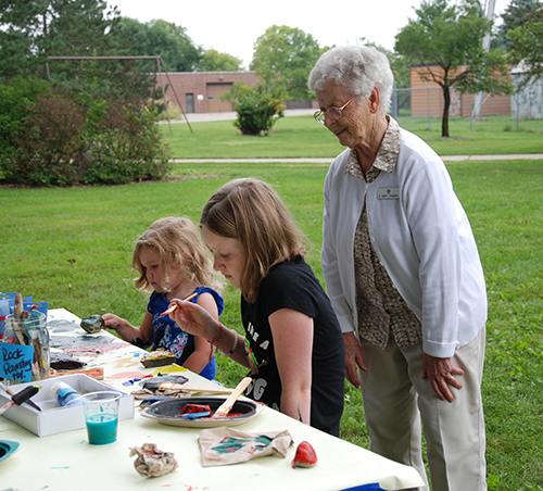 The first annual Living Earth Center picnic was held on August 25, 2018. The Living Earth Center was celebrating their newly attained non-profit status, as well as a shortening of their name from CERM to Living Earth Center. Featured: Sister Mar
