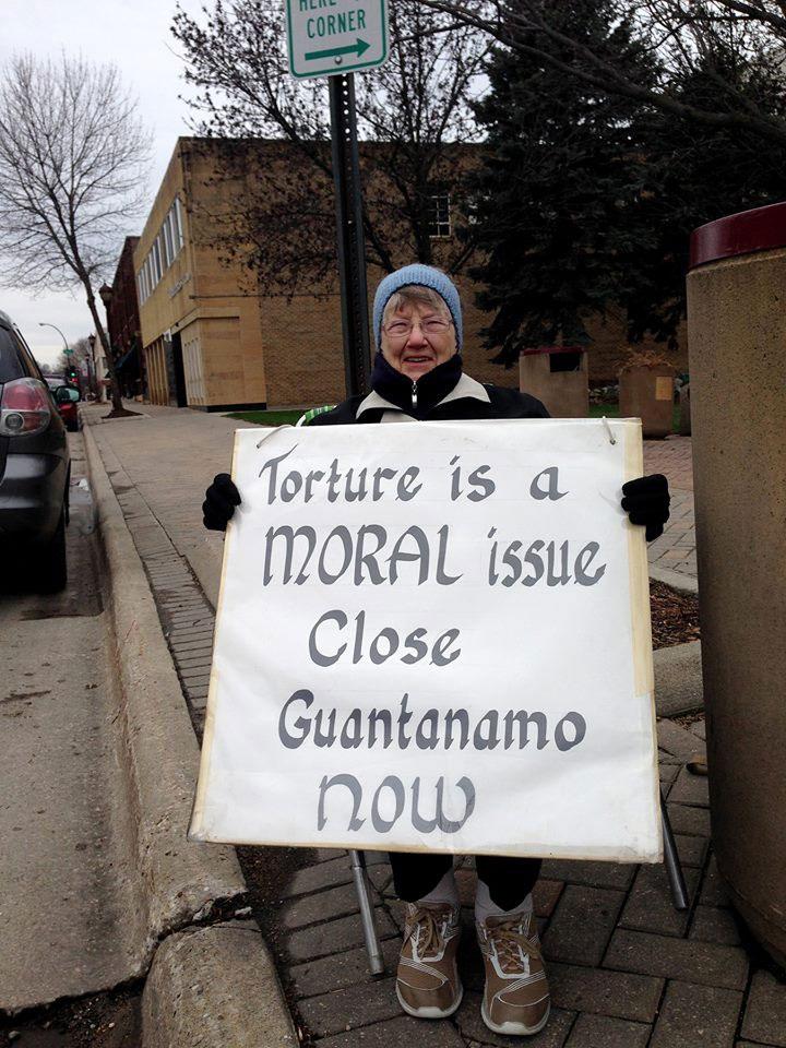 S. Alice Zachmann_Peace Vigil in Mankato, Minnesota