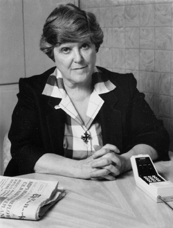 On October 7, 1984, Margaret Ellen Traxler, SSND, joined 80 women and men in signing an ad in the New York Times asking for dialogue within the church regarding abortion.